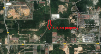 RESIDENTIAL LAND FOR SALE AT SALAK TINGGI